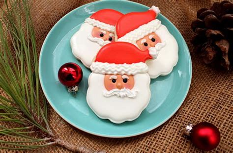 Best Cookie Decorating Blogs by Foodista Best Santa Cookie Decorating Tutorial