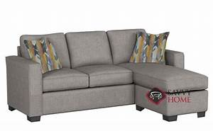 quick ship 702 fabric chaise sectional in pinnacle gray by With the stanton 702 chaise sectional sleeper sofa queen
