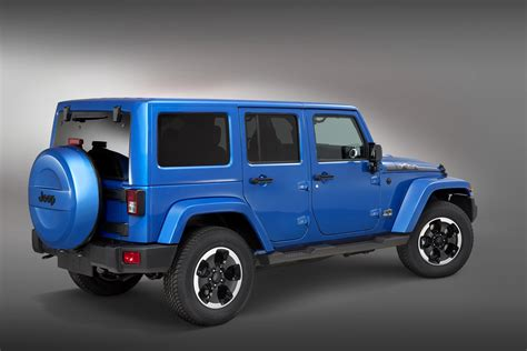 """Limited Model Jeep Wrangler """"polar"""" Edition Released"""