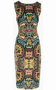 Joseph Ribkoff Black Print Cap Sleeve Dress