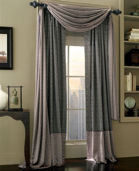 Kitchen Scarf Valance by Waterford Alana Scarf Window Valance Bedding Collections