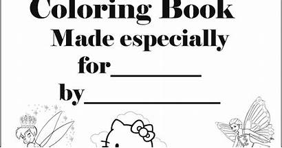 Coloring Printable Magazine Interactive Personalised