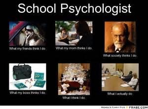 School Psychologist Meme