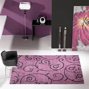 salon noir blanc violet With tapis de gym avec cire pour canapé simili cuir