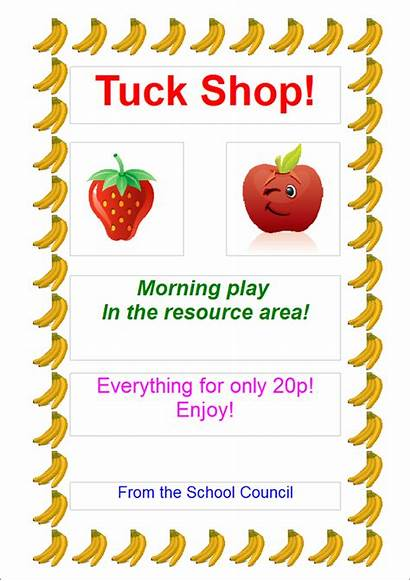 Tuck Poster Healthy Parkfield Primary