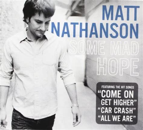 release  mad hope  matt nathanson musicbrainz