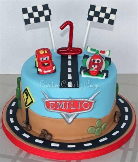 deco gateau anniversaire cars disney cars 1st birthday cake cake by sonya cakesdecor