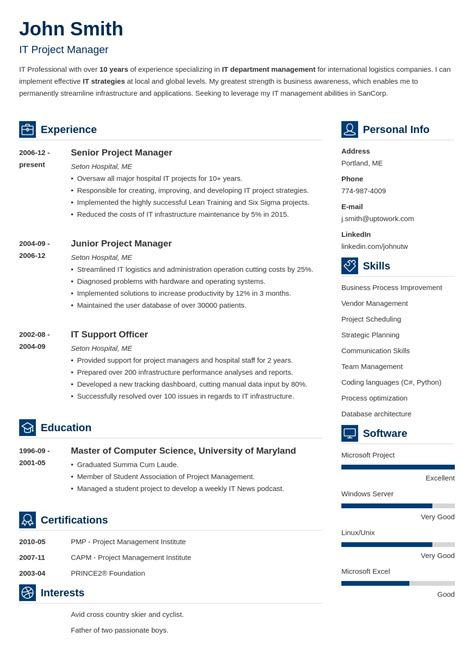 Top Cv Templates by Best Cv Maker Create A Cv Now In 5 Mins