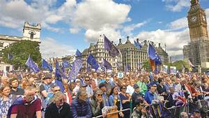 Thousands join anti-Brexit march through London ...