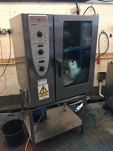 Rational Cm 101 E Combimaster 10 Grid Combi Oven Peri Peri 3 Phase 2011 Model
