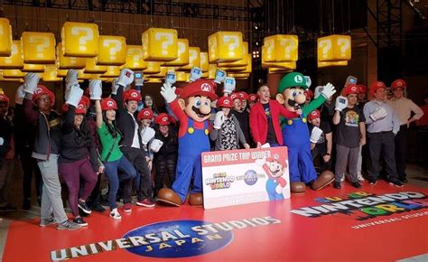 Universal Studios Japan Holds Event Promoting Super ...
