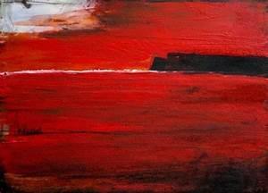 Abstrakte Bilder Leinwand : abstrakte malerei rot bilder kunst gem lde pinterest ~ Sanjose-hotels-ca.com Haus und Dekorationen