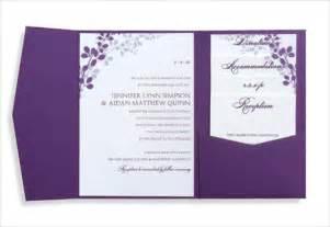 pocket wedding invitation kits 16 free printable invitation templates ms word