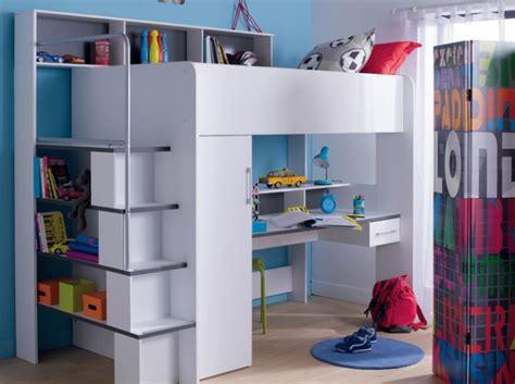 lit mezzanine avec armoire et bureau chambre enfant conforama chambre a coucher
