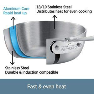 clad stainless steel universal lid    usa  cookware channel