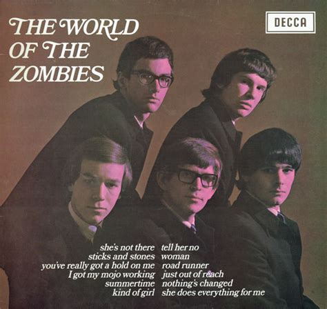 zombies album covers pacemakers gerry discogs zombie vinyl music lp