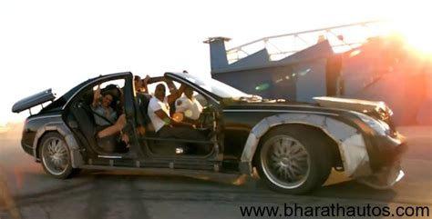 Kanye West And Jay-z Destroy A Maybach For Otis Music Video