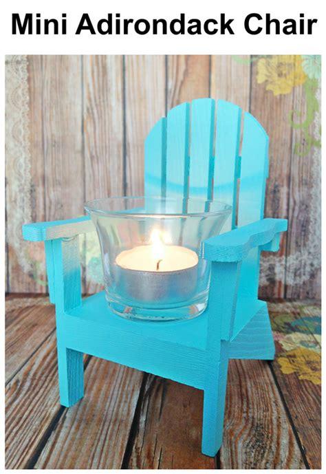mini adirondack chairs  ideas   nautical decor