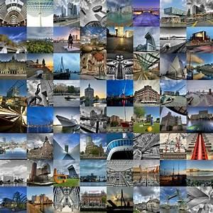 Fotos Als Collage : fotocollage met alle highlights van rotterdam poster esther seijmonsbergen ohmyprints ~ Markanthonyermac.com Haus und Dekorationen