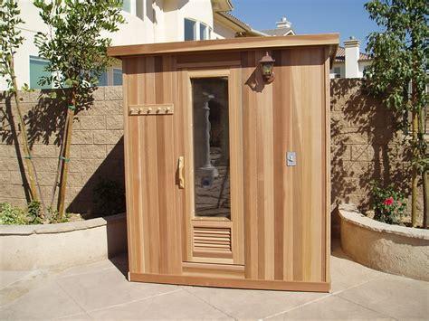 Additional View Of Custom Outdoor Sauna Contemporary