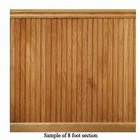 what is beadboard House of Fara 8 lin. ft. Red Oak Tongue and Groove Wainscot Paneling-32OKIT - The Home Depot
