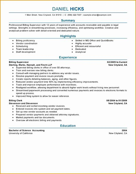 File Clerk Resume by 9 Payable Resume Templates Free Sles Exles