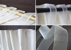 Tissus Pour Double Rideaux : ruflette pour rideaux d coration rideau lin ruflette pour rideaux transparente 10 cm ~ Melissatoandfro.com Idées de Décoration