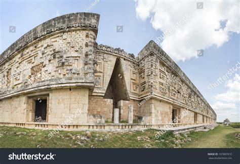 Mayan Corbel Arch Uxmal This Arrow Stock Photo 197887910