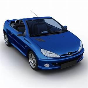 Peugeot 206 Cc : 3d peugeot 206 cc ~ Medecine-chirurgie-esthetiques.com Avis de Voitures