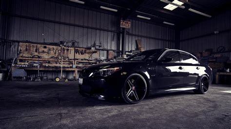 bmw black car wallpaper hd bmw m5 e60 garage 4k ultra hd desktop wallpaper 4k cars