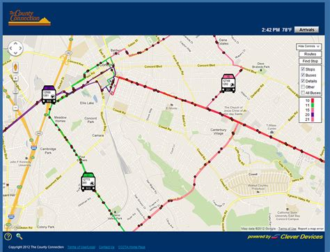 Bus Tracker  The County Connection