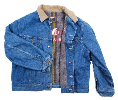 Vintage Winter Blanket Lined Mustang Denim Jean Jacket #
