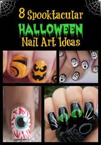 Spooktacular halloween nail art ideas