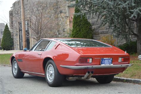 vintage maserati for sale classic 1970 maserati ghibli 0 burgundy for sale detailed