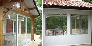 fermeture de terrasse maison du store et de la fermeture With comment fermer sa terrasse