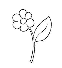 midisegni fiori midisegni disegni da colorare