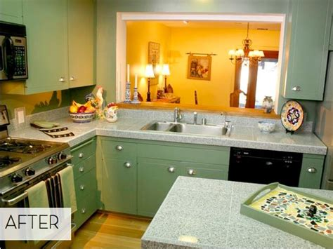 avocado green kitchen from avocado to jade a green kitchen done right 187 curbly 1396