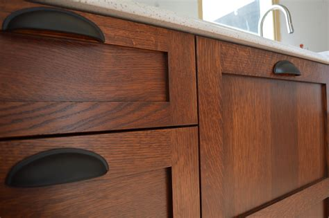 antiquing cabinets with stain diy stickley finish jeff jewitt method brown mahogany