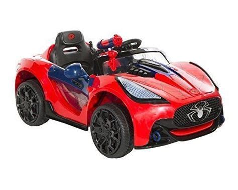 Super Electric Kids Ride On Car Power Wheels Spiderman