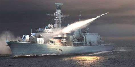 trumpeter  hms type  frigate monmouthf tr