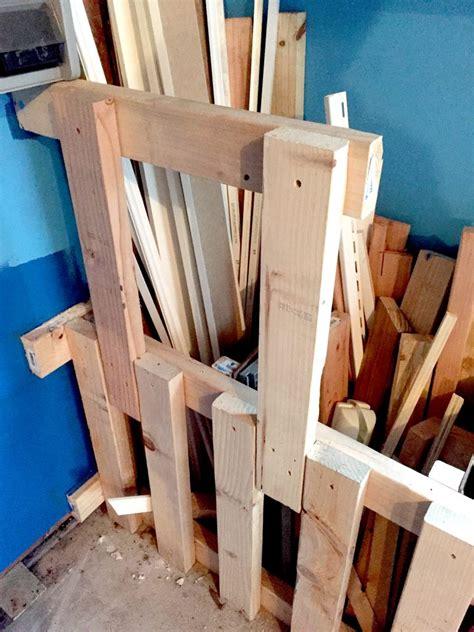 scrap wood storage bin easy diy tutorial  storing