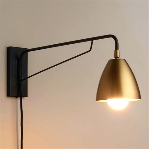 Plug In Wall Lights For Bedroom Bedrooms Lamps Led With