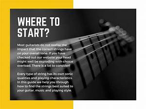 Guide To Choosing Electric Guitar Strings