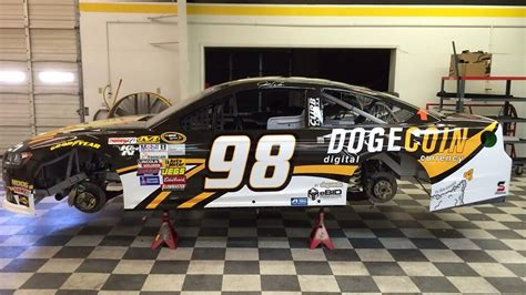 There's A Dogecoin NASCAR About To Hit The Race Track