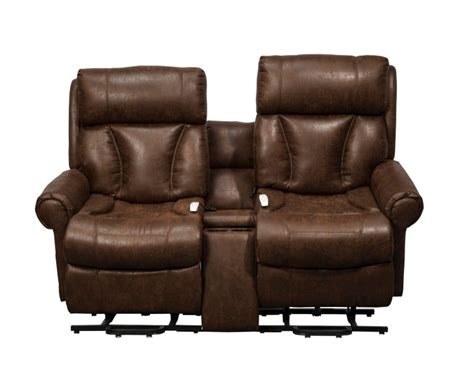 wallaway reclining loveseat catnapper hammond power reclining console loveseat with
