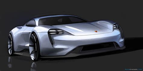Design Story Porsche Mission E Concept