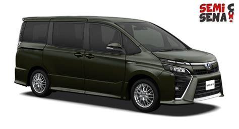 Gambar Mobil Toyota Voxy by Harga Toyota Voxy Review Spesifikasi Gambar Juli 2018