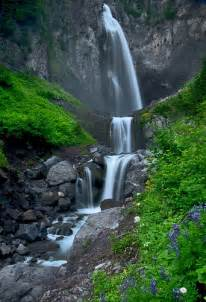 Comet Falls MT Rainier National Park