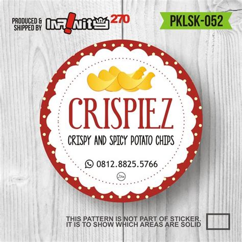 / poin menarik dari best gambar stiker tulisan keren gambar stiker adalah. Jual PKLSK-052 stiker produk label kemasan makanan ...