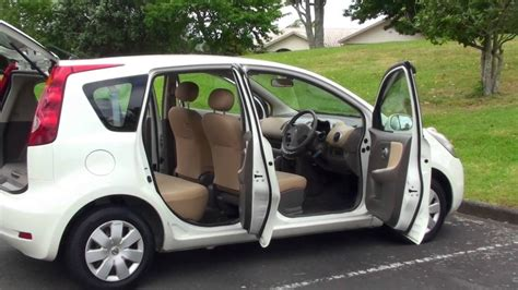 nissan note 2005 white nissan note 15s 2005 pearl 1 5l auto youtube